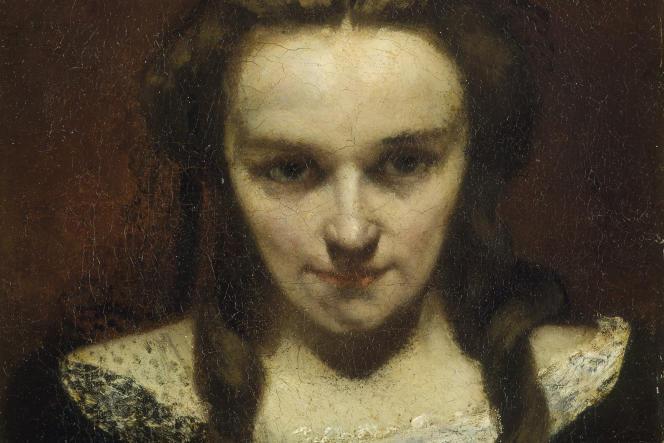 «La Voyante» ou «La Somnambule» (1865), de Gustave Courbet, huile sur toile.