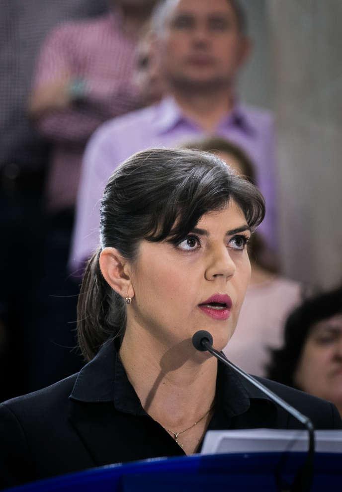 La Roumaine Laura Codruta Kövesi, 47ans, est la chef du futur parquet européen anti-corruption.