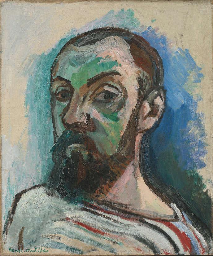 «Autoportrait» (1906), d'Henri Matisse, huile sur toile, 55 x 46 cm, Statens Museum for Kunst, Copenhague.