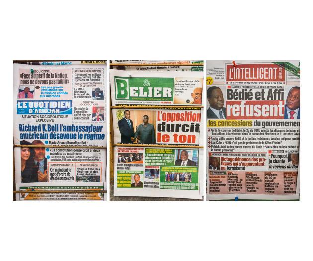 Les journaux du 23 octobre
