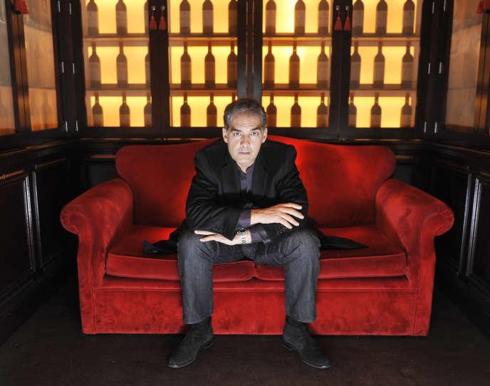 L'écrivain écossais Philip Kerr, à Edimbourg, en 2011.