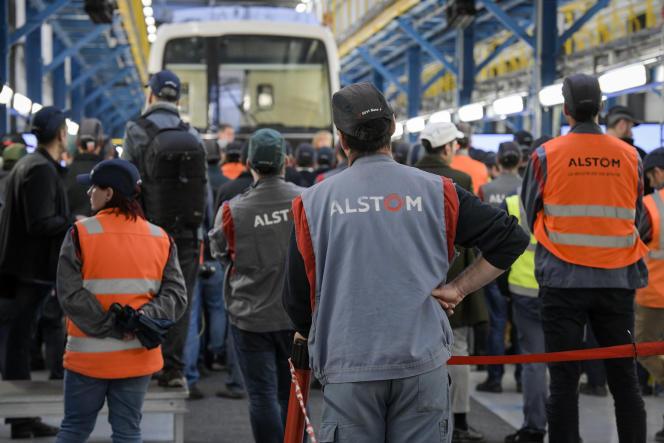 Le site d'Alstom à Reichshoffen en octobre 2019.
