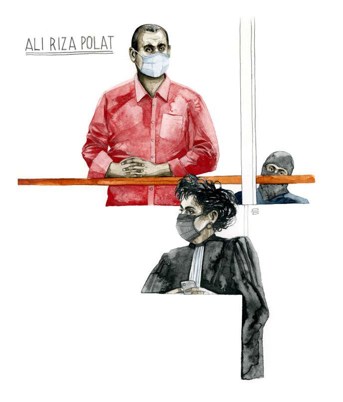 Ali Riza Polat au tribunal de Paris.