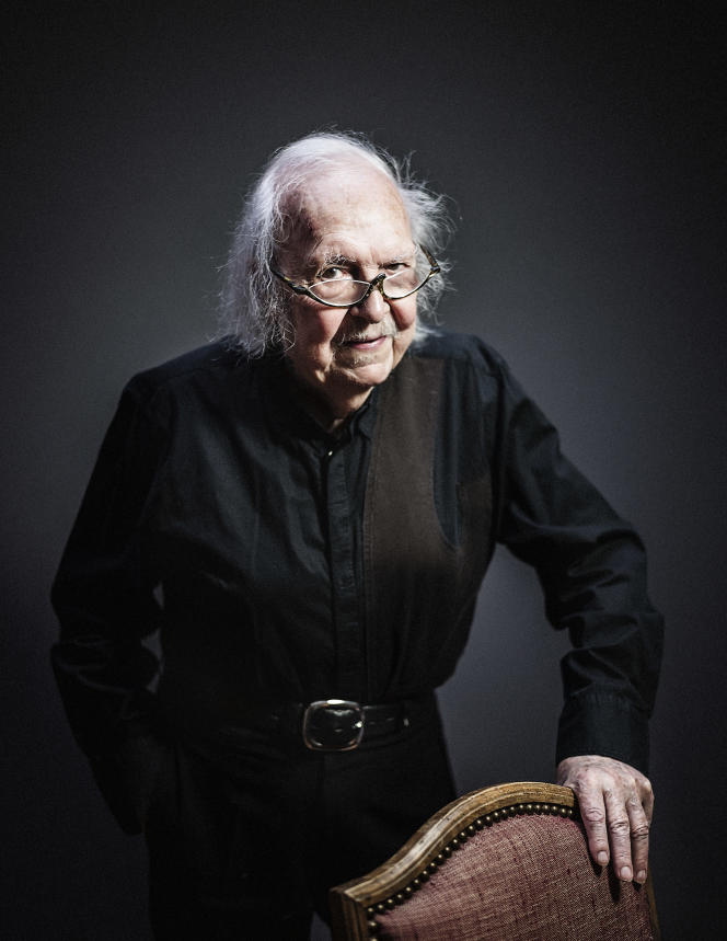 Alain Rey, en novembre 2017.