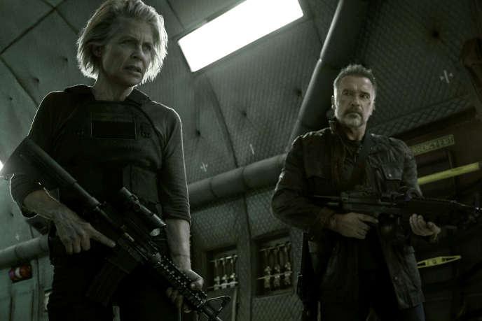 Linda Hamilton, légendaire Sarah Connor, et Arnold Schwarzenegger, T-800 retraité, rempilent dans «Terminator : Dark Fate» (2019), de Tim Miller.