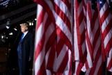 Donald Trump, à Omaha (Nebraska) le 27 octobre.