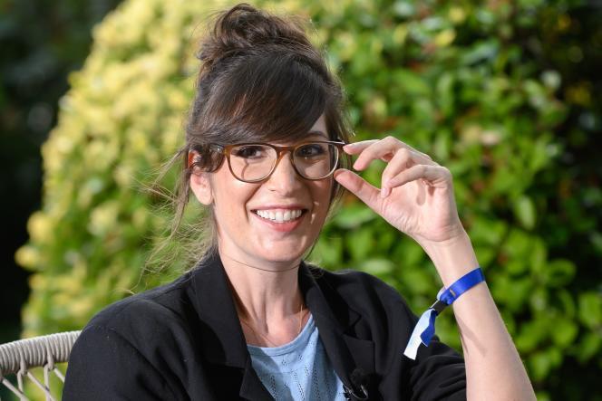 Nora Hamzawi, comédienne et humoriste, le 28 août, au Festival du film francophone d'Angoulême.