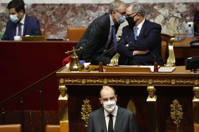 La nouvelle de l'attentat à Nice se propage à l'Assemblée, le 29 octobre au matin