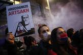 Affrontements sur l'autoroute A7 en Isère lors d'une manifestation de militants arméniens