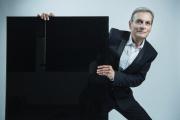 Le pianiste Philippe Bianconi,en novembre 2018, auPré-Saint-Gervais, en Seine-Saint-Denis (pour le label La Dolce Volta).