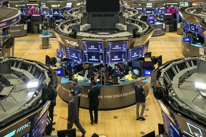 A la Bourse de New York, le 28 octobre.