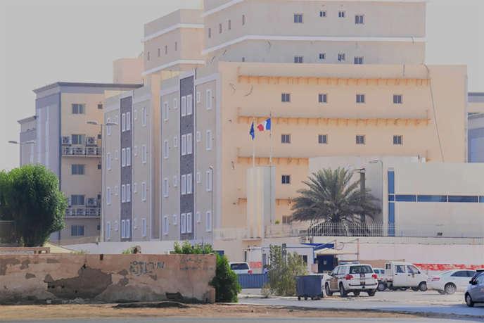 Le consulat français de Djeddah, en Arabie saoudite, le 29 octobre.
