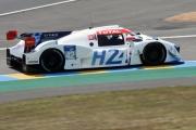 Le prototype Mission H24, aux 24 Heures du Mans, en juillet.