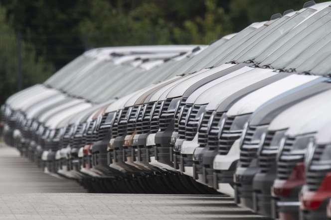 Dans une usine Volkswagen à Hanovre (Basse-Saxe), en septembre 2020.