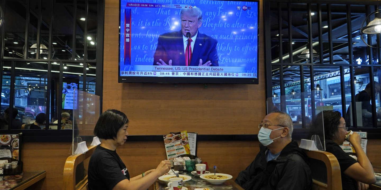 Exilés chinois, démocrates hongkongais et Ouïgours « votent » Trump