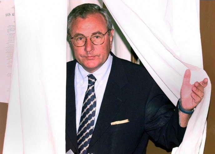 Jean-Marie Le Chevallier, à Toulon, en 1997.