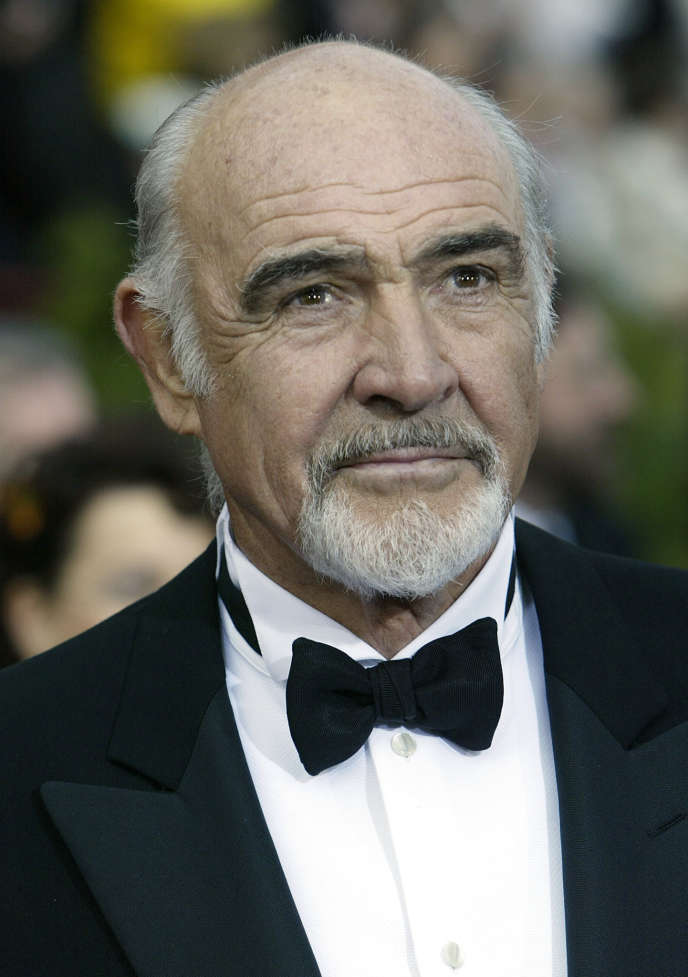 L'acteur britannique Sean Connery à Hollywood en Californie, en 2004.