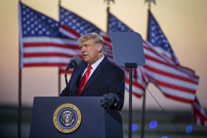 Réunion de Donald Trump à Rochester (Minnesota), vendredi 30 octobre.
