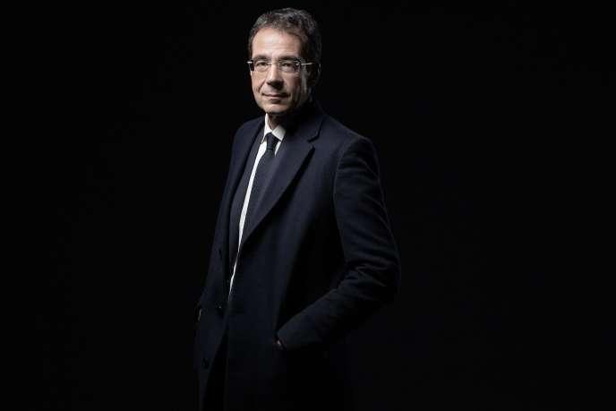 Darius Rochebin, à Paris, le 14 septembre 2020.