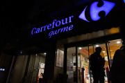 Un magasin Carrefour, à Istanbul, le 26 octobre.