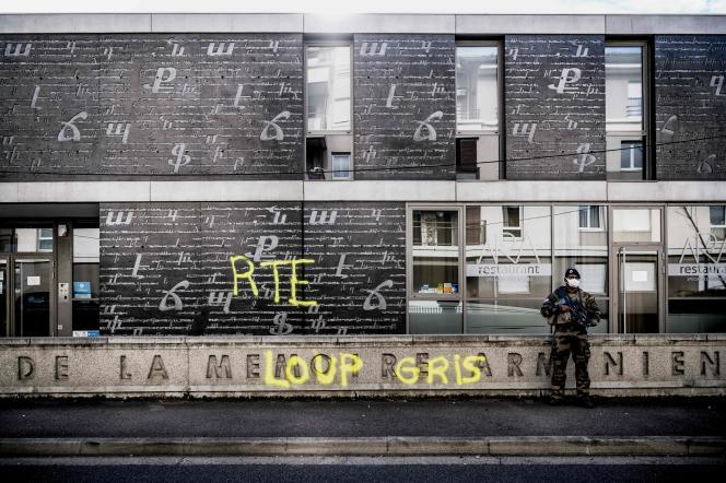 Le Centre national de la mémoire arménienne, à Décines-Charpieu, près de Lyon, le 1er novembre.