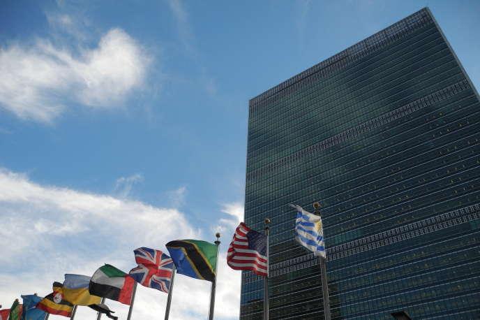 Le siège des Nations unies (ONU) à New York, en décembre 2018