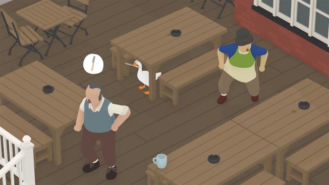Le monde d'« Untitled Goose Game» allait bien jusqu'à l'arrivée de ce volatile.