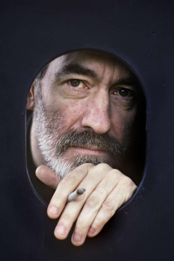 L'écrivain et poète Jean-Claude Pirotte, en 1993.