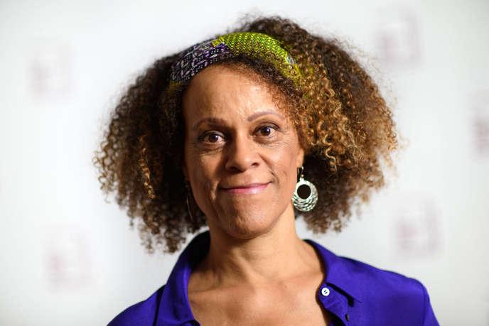 L'écrivaine britannique Bernardine Evaristo, à Londres, en 2019.