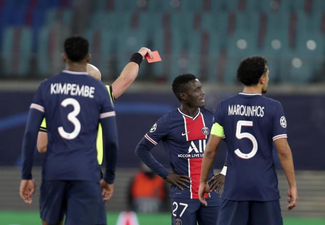 Le Paris-Saint-Germain (PSG) a été battu 2-1 par le RB Leipzig.