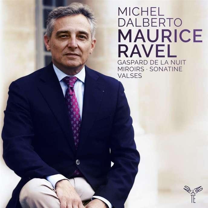 Pochette de l'album consacré à Maurice Ravel par le pianiste Michel Dalberto.