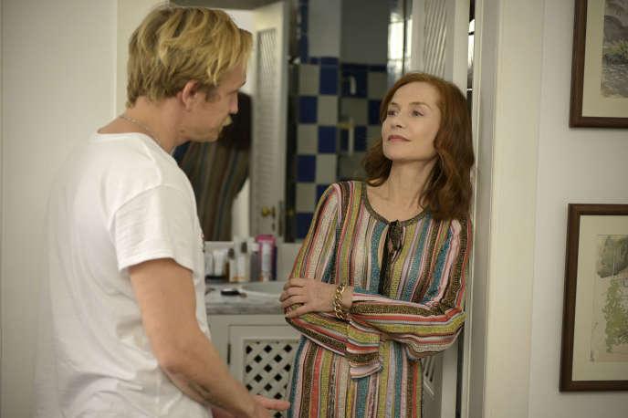 Paul, le fils (Jérémie Renier), et Frankie, sa mère (Isabelle Huppert), dans«Frankie» (2019), d'Ira Sachs.