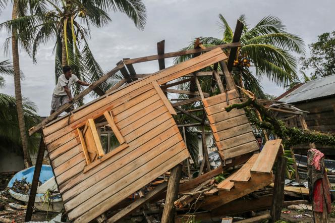 L'ouragan a fait deux morts au Nicaragua.