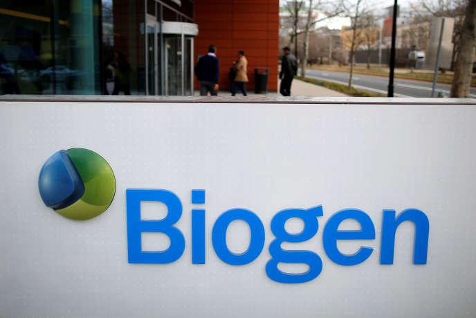 Le siège de Biogen, à Cambridge (Massachusetts), dans le nord-est des Etats-Unis, en janvier 2017.