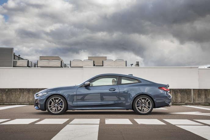Le coupé série 4 de BMW.