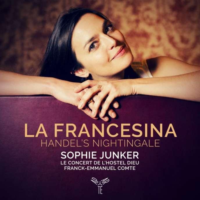 Pochette de l'album«Handel's Nightingale», hommage à La Francesina.