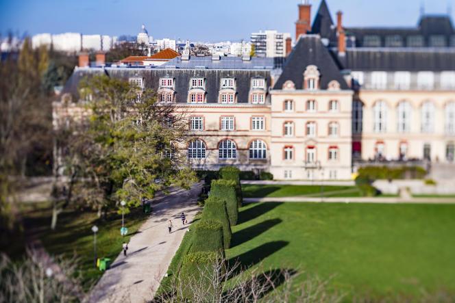 La Cité universitaire, à Paris, en 2015.
