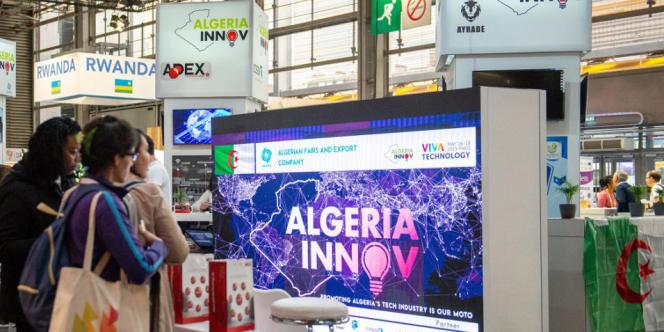 Lors de la conférence nationale Algeria Disrupt 2020, le 2 novembre 2020 à Alger.