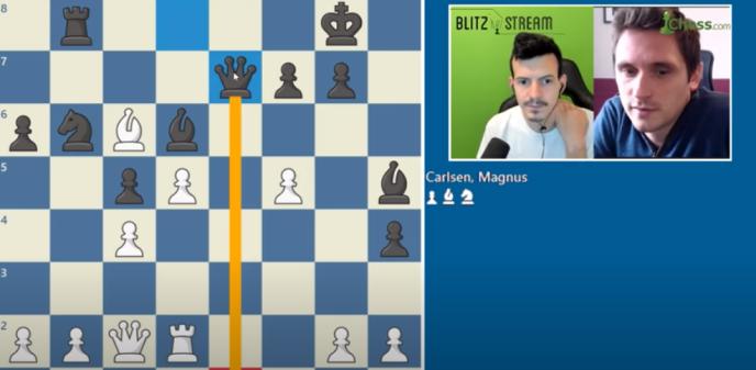 Capture d'écran de la chaîne Blitzstream.