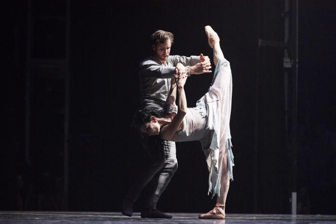 «Giselle» d'Akram Kahn, à l'EnglishNational Ballet.