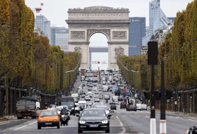 Les Français se déplacent actuellement nettement plus que pendant le premier confinement