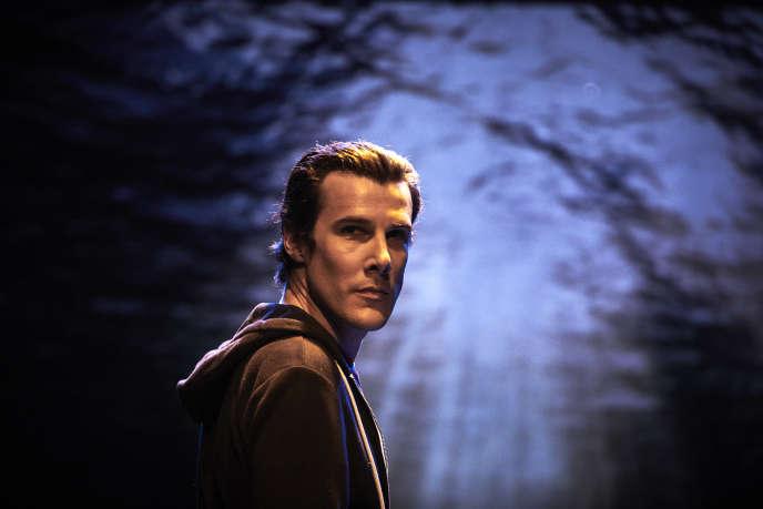 Mathieu Touzé dans «Un garçon d'Italie»,une pièce tirée du roman de Philippe Besson, en mars 2019, au Théâtre Transversal à Avignon.