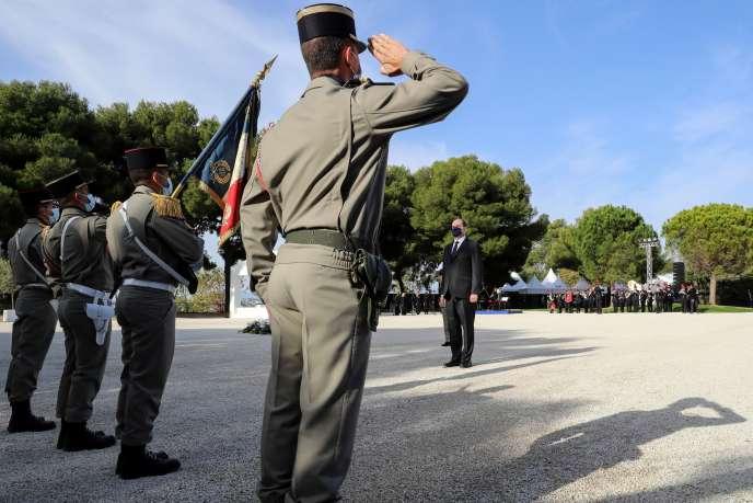 Le premier ministre préside, le 7 novembre, une cérémonie d'hommage national aux trois victimes de l'attaque de la basilique Notre-Dame-de-l'Assomption, à Nice.