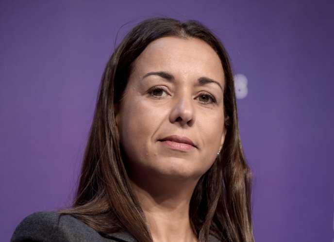 Ilham Kadri, la directrice générale du chimiste belge Solvay. Ici, à Paris le 15 novembre 2018.