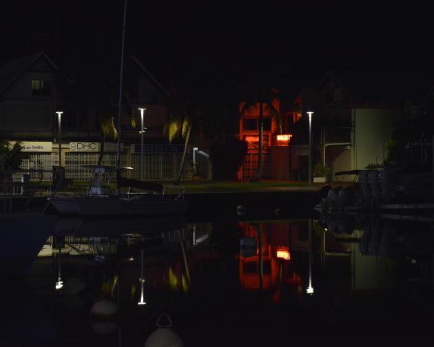 Le quartier de la Marina, à Pointe-à-Pitre, fin octobre.