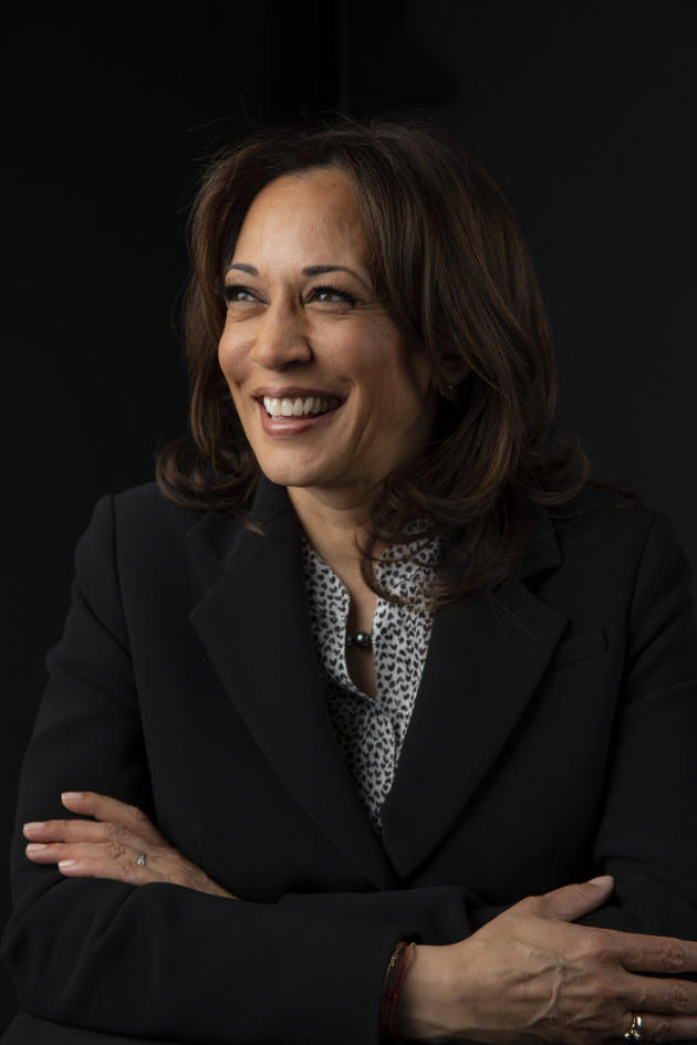 Kamala Harris à New York en avril 2019.