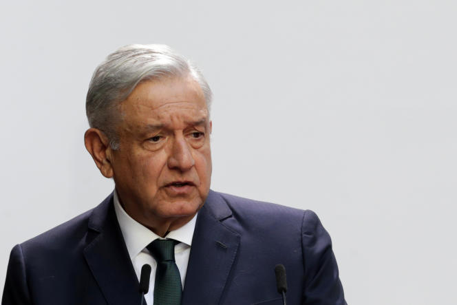 El presidente de México, Andrés Manuel López Obrador, en la Ciudad de México el 1 de septiembre.