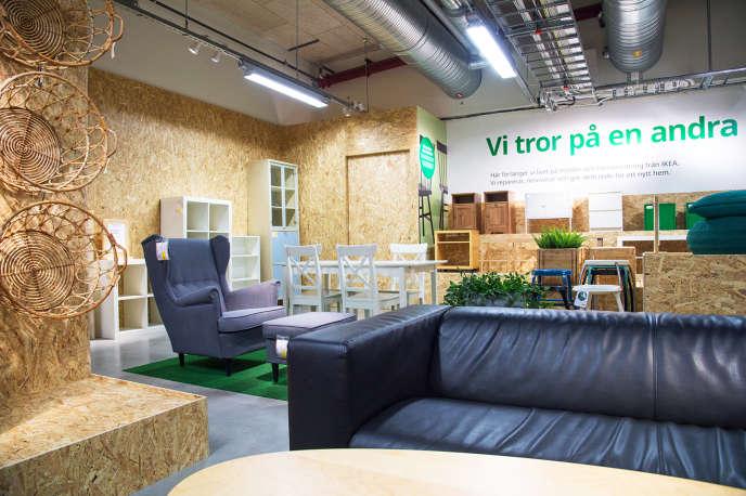 Ikea vient d'ouvrir un magasin avec ses meubles d'occasion en Suède.