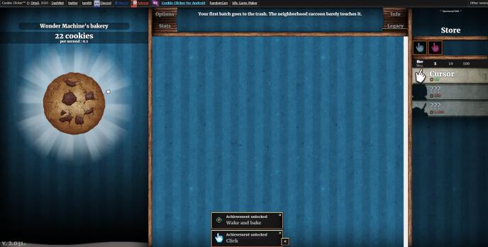 Si vous venez de commencer le jeu, comme sur cette capture d'écran, vous pouvez encore arrêter avant qu'il ne soit trop tard.