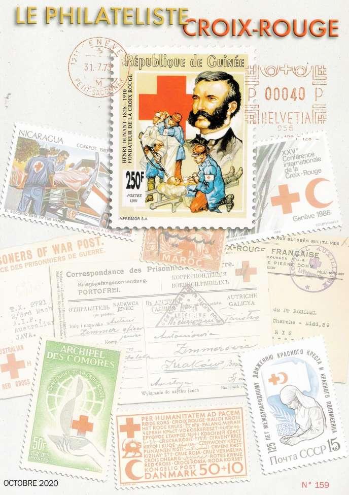 « Le Philatéliste Croix-Rouge », 40 pages, édité par le Club thématique Croix-Rouge, 20, rue Carnot, 95690 Nesles-la-Vallée (Tél. : 01-34-70-63-33 et 06-08-24-79-22 et courriel rankindustrie@wanadoo.fr)